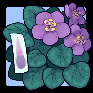 Violet cartoon